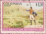 Stamps America - Colombia -  Sesquicentenario de la Batalla de Bombona (1822-1972).
