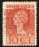 Sellos de Europa - Holanda -  Queen Wilhelmina- Reign Jubilee