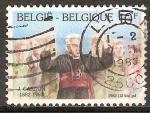 Sellos del Mundo : Europa : Bélgica : Nacimiento del Centenario del cardenal Joseph Cardijn(1882-1967).