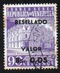 Sellos de America - Venezuela -  Oficina principal de correos-Caracas