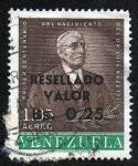 Stamps Venezuela -  Primer centenario del nacimiento  del Dr. Luis Razetti