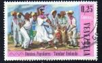 Sellos de America - Venezuela -  Danzas populares - Tambor redondo