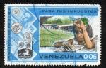 Sellos de America - Venezuela -  Paga tus impuestos - Más escuelas