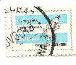 Stamps Argentina -   censo