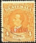 Sellos de America - Guatemala -  Garc�a Granados. UPU 1926. Sobreimp.
