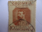 Stamps of the world : Colombia :  IV.Congreso Panamericano de Prensa 1946- Alberto Urdaneta Urdaneta