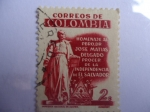 Sellos de America - Colombia -  Homenaje al Pbro.Dr.José Matias Delgado,procer de la Ind.de El Salvador