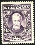 Sellos del Mundo : America : Guatemala : Dr. Lorenzo Montufar.