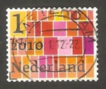 Stamps : Europe : Netherlands :  2697 - Cuadrícula