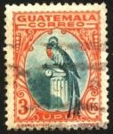 Stamps Guatemala -  Quetzal.