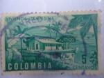 Sellos de America - Colombia -  VIVIENDA CAMPESINA