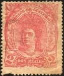 Sellos del Mundo : America : Guatemala : India nativa de Guatemala.  1875