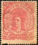 Stamps America - Guatemala -  India nativa de Guatemala.  1875