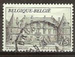 Sellos del Mundo : Europa : Bélgica : Castillo de la Hulpe.