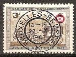 Sellos del Mundo : Europa : Bélgica : Dia del sello.La diligencia (1500).