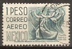 Sellos del Mundo : America : México : Danza de las Medias Lunas, Puebla.
