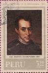 Stamps America - Peru -  Precursores de la Independencia: Francisco J. De La Luna Pizarro 1780-1855