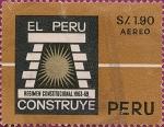 Stamps Peru -  El Perú Construye. Regimen Constitucional 1963-69.