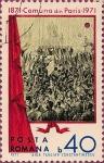 Stamps Romania -  Centenario de la Comuna de Paris.