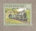 Sellos de Europa - Austria -  100 Aniv de la linea Pyrhbahn