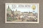 Stamps Austria -  750 Aniv. ciudad Lemberg. Emisión conjunta con Ucrania