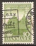Sellos del Mundo : Europa : Dinamarca : 1000 años de reino danés.Castillo Spøttrup.