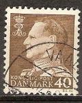 Sellos del Mundo : Europa : Dinamarca : El rey Frederik IX.