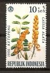 Stamps Indonesia -  Sobretasa para Beneficencia.