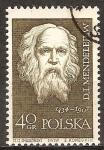 Sellos de Europa - Polonia -  Científicos famosos. Mendeleiev.