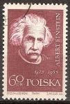 Sellos del Mundo : Europa : Polonia : Científicos famosos. Einstein.