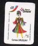 Sellos de America - Uruguay -  Carnaval