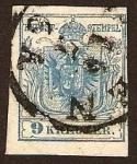 Sellos del Mundo : Europa : Austria : Clásicos - Imperio Austro Húngaro
