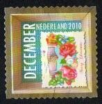 Stamps Netherlands -  Navidad - Tarjeta navideña