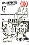 Sellos de Europa - España -  Año Internacional de la Juventud    (E)