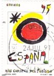 Sellos de Europa - España -  Año Europeo del Turísmo   (E)