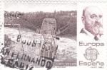 Stamps Spain -  Transbordador sobre el Niágara    (E)