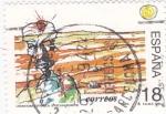 Sellos de Europa - España -  literatura española- Pascual Duarte      (E)