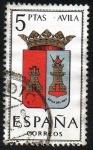 Sellos de Europa - España -  Escudos de las provincias españolas - Ávila
