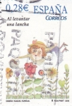 Stamps Spain -  Al levantar una lancha    (E)