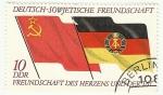 sellos de Europa - Alemania -  AMISTAD ENTRE ALEMANIA Y LA URSS