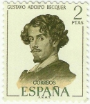 Stamps : Europe : Spain :  GUSTAVO ADOLFO BECQUER