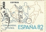 Stamps : Europe : Spain :  MUNDIAL ESPAÑA 82