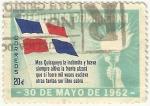 Stamps : America : Dominican_Republic :  30 DE MAYO DE 1962