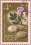 Stamps Russia -  Agricultura. La Papa.