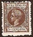 Sellos de America - Cuba -  Clásicos - Cuba / España