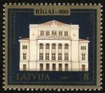 Stamps Europe - Latvia -  LETONIA - Centro histórico de Riga