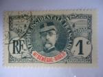 Stamps Senegal -  General, Louis León faidherbe (1818-1889)- Afrique Occidentale Française (Ht Sénéga-Niger)