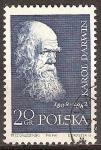 Sellos del Mundo : Europa : Polonia : Científicos famosos.Karol Darwin.
