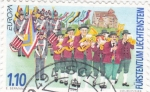 Sellos de Europa - Liechtenstein -  Banda de música