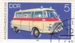 Stamps Germany -  Vehículos - ambulancia